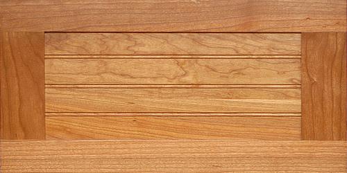 Shaker Beadboard Wood Kitchen Drawer Front