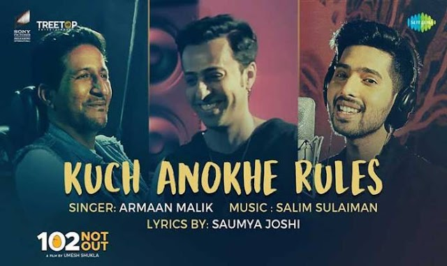 Kuch Anokhe Rules Lyrics in Hindi/English- 102 Not Out