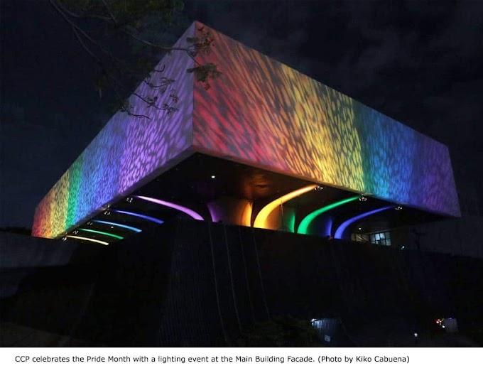 The CCP celebrates Pride with a rainbow façade lighting