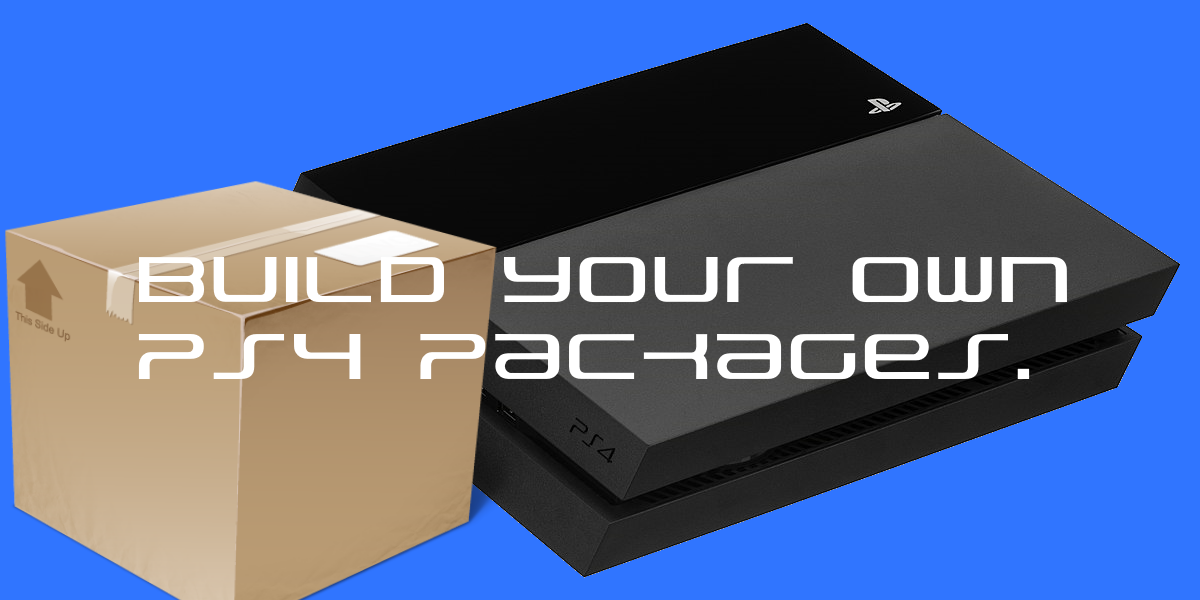 GamecrackerS: How To Rebuild PS4 Fake PKG (Signed & Patched) For 5 05