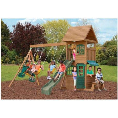 Big Backyard Playset Slide