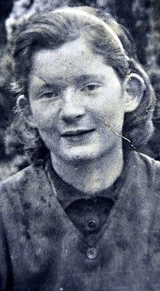 Shy: Teresa aged 15