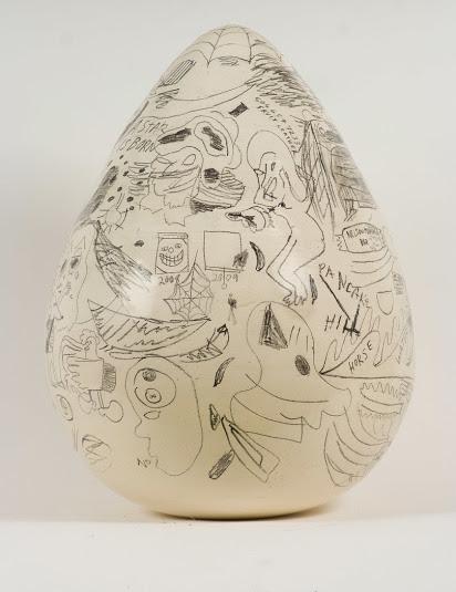 mark-delong-egg-sculpture-sharpie-marker