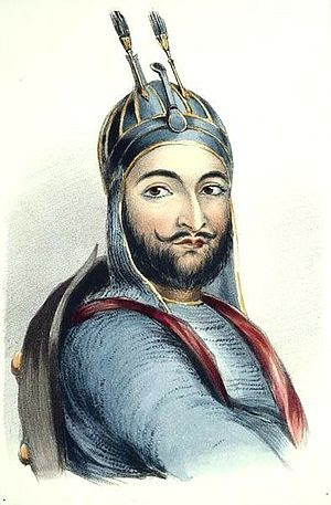 English: Prince Akbar Khan of Afghanistan, son...