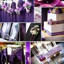 purple wedding gallery - The Wedding Gallery