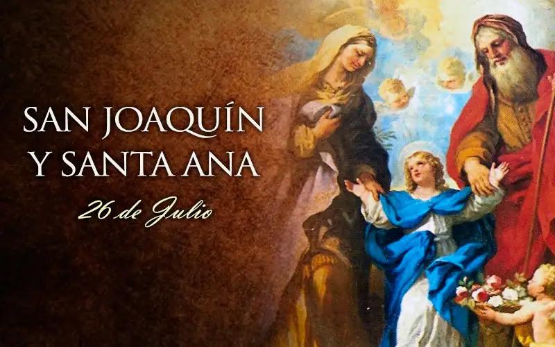Hoy la Iglesia Católica celebra a San Joaquín y Santa Ana, los abuelos de Jesús