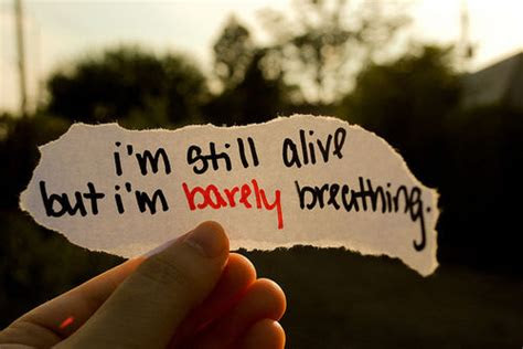 Why Am I Still Alive Quotes