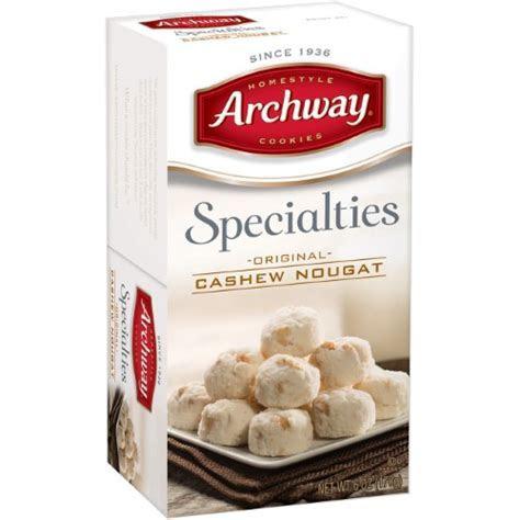 Archway Specialities Cashew Nougat Cookies, 6 Oz   Jet.com