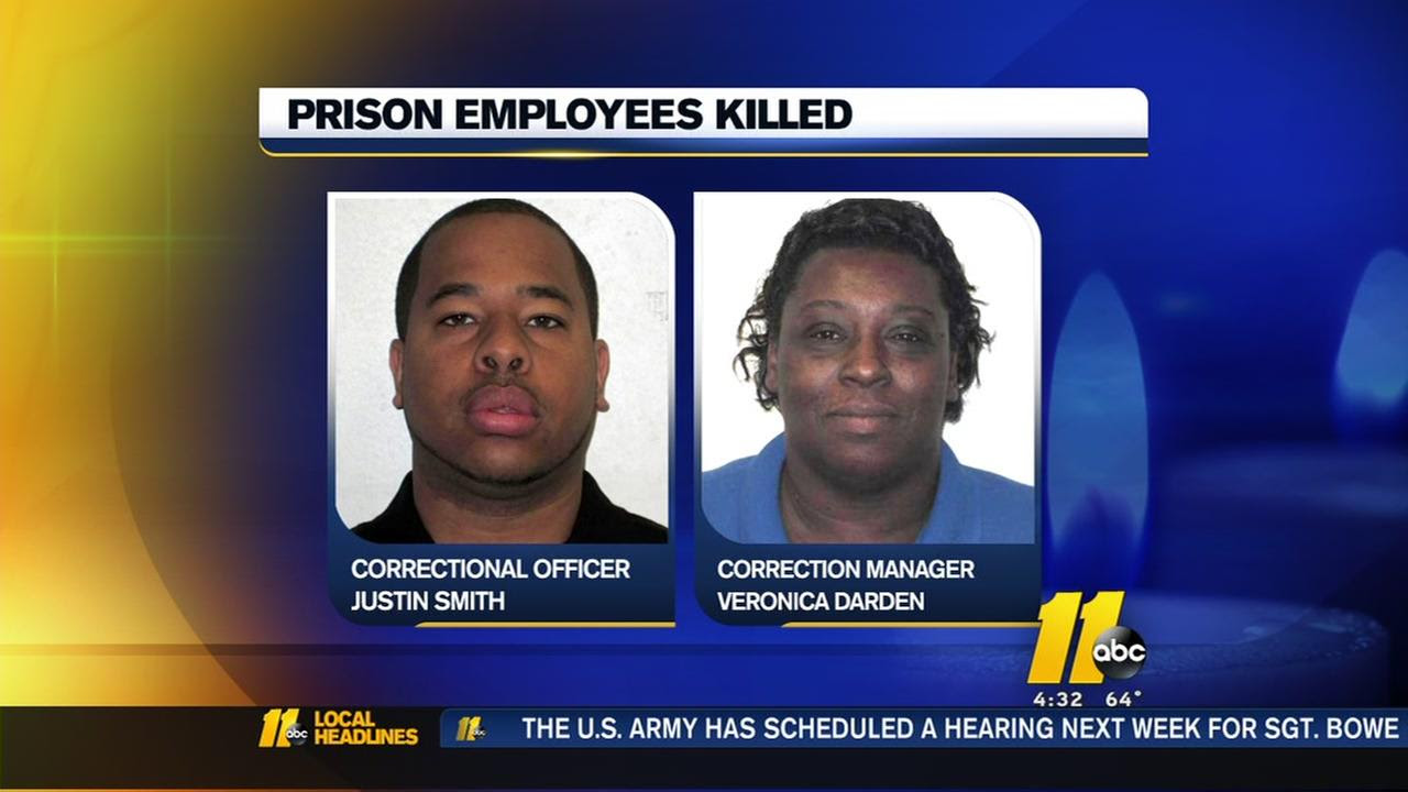 Image result for 2 workers killed in escape attempt at North Carolina prison identified