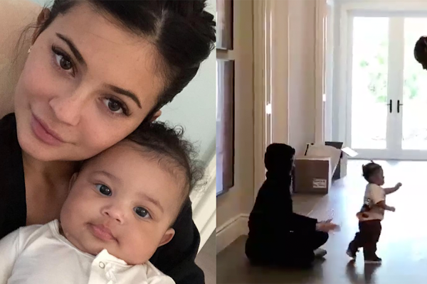 8f12ef1fcf05 Kylie Jenner Shares Previously-Unseen Photos and Videos of Stormi Webster  for Her First Birthday