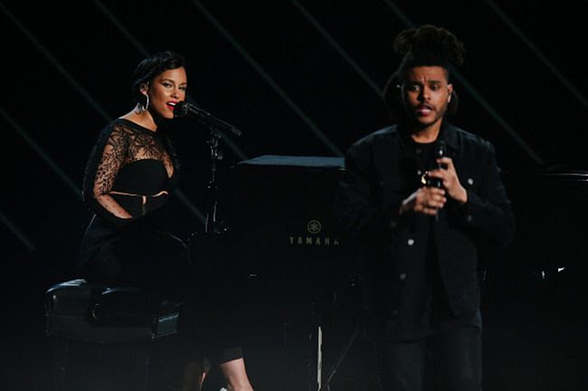 2015 BET Awards: Alicia Keys photo alicia-the-weeknd.jpg