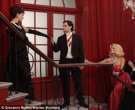 Beleza morena: Blair Waldorf interpretada por Leighton Meester também é na seqüência
