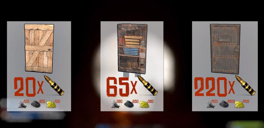 How Many Explosive Rounds For Sheet Metal Door The Door