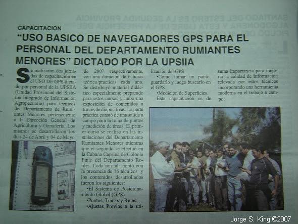 GPS Capacitación