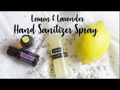 Dr. Bronner's Organic Lavender Hand Sanitizer 2 Oz. Travel Safe Bundle (3 Bottle Pack)
