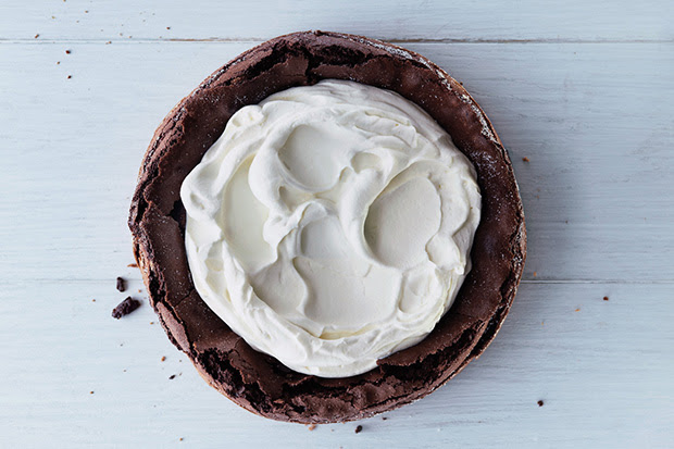 Fallen Chocolate Cake recipe