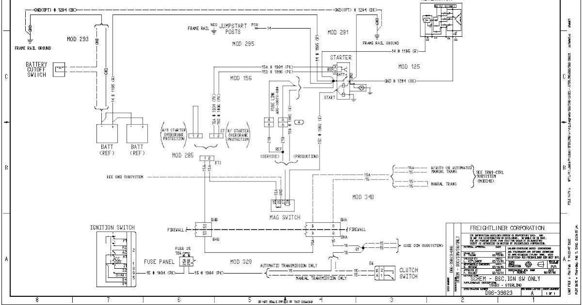 Freightliner M2 Blower Motor Wiring Diagram