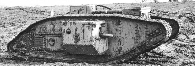 File:British Mark V (male) tank.jpg