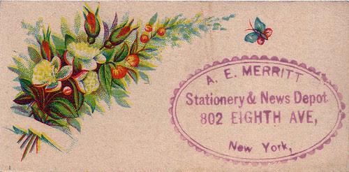 A. E. Merritt Stationary & New Depot
