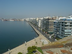 view from white tower thessaloniki