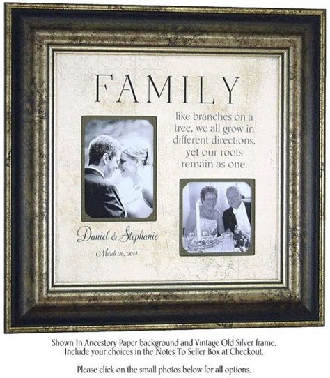 Wedding Decoration, Sign Frame, FAMILY LIKE BRANCHES