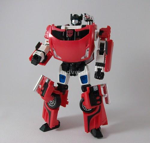 Transformers Lambor Henkei (Sideswipe) - modo robot (by mdverde)
