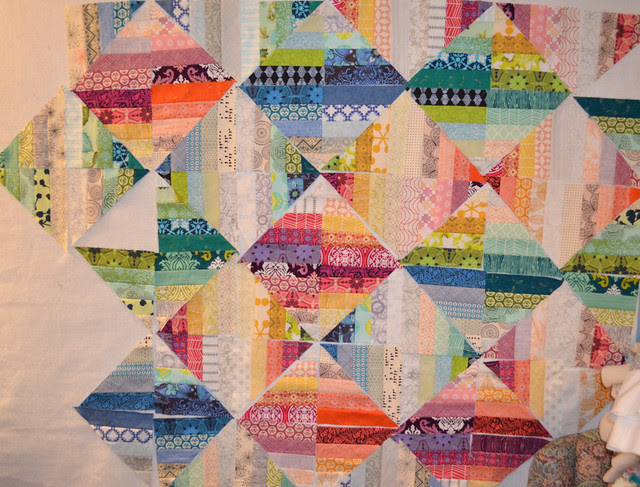 Blended Scrap Blocks