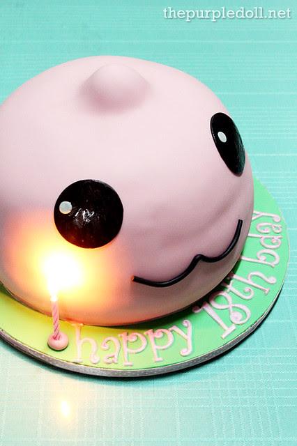 Poring Cake