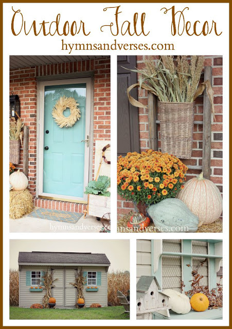 Outdoor Fall Decor Hymns and Verses