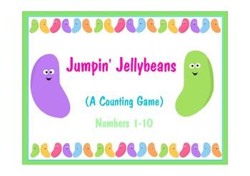 Jumpin' Jellybeans Ten Frame Workmats