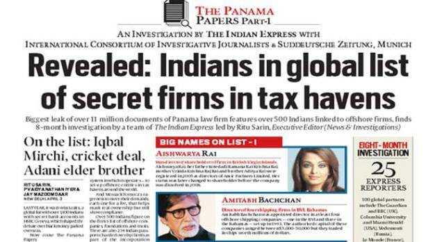 Many Indians in secret firms list