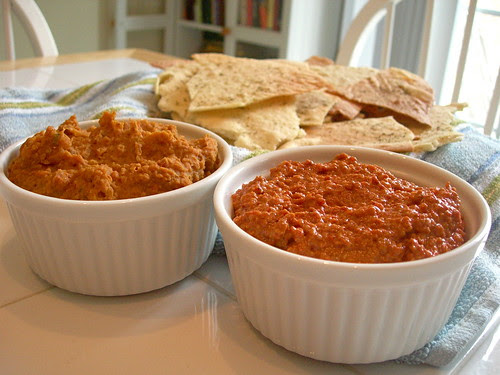 Lavash with Dips