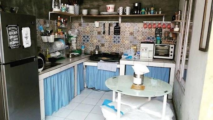 Contoh Penataan Dapur Kecil   Ide Rumah Minimalis