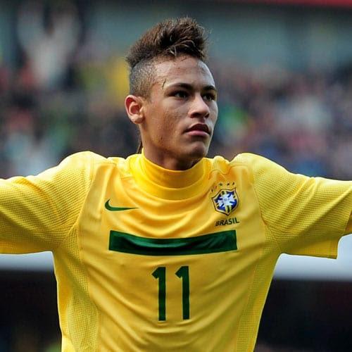 Neymar Haircut | Men's Hairstyles + Haircuts 2017