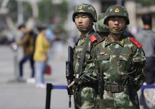 Trung Quốc, Pháp, Paris, cảnh sát, tuần tra, bảo vệ, du khách