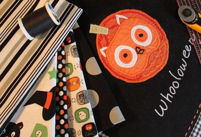 Halloween Fabrics and Appliques