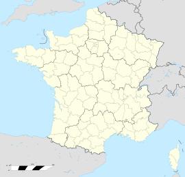 Reynès Reiners trên bản đồ Pháp