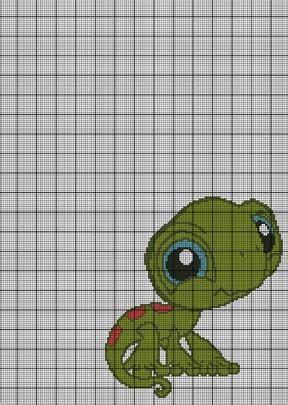 Littlest Pet Shop Lizard Crochet Pattern