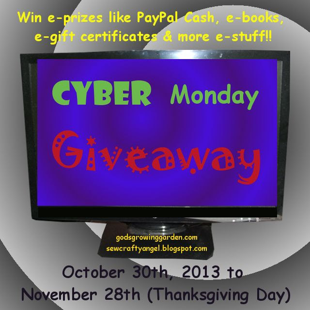 Cyber Monday Giveaway by Angie Ouellette-Tower for godsgrowinggarden.com photo GiveawayCyberMondayBoth_zpsb66678df.jpg