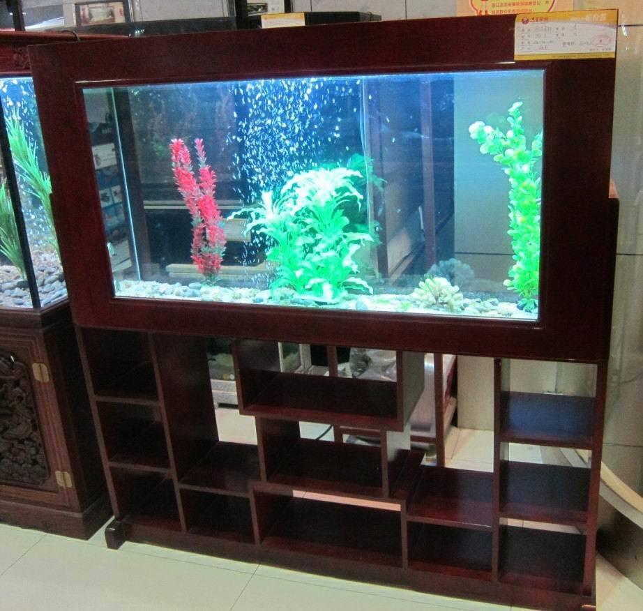 Decoration Aquariums, Log Screen Fish Tank, 1.5m*0.4m*1.5m - China