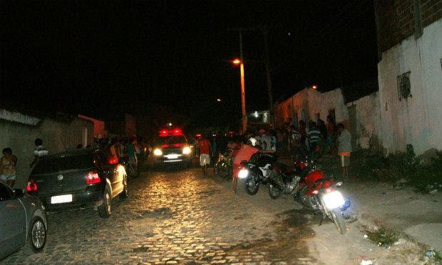 Crime ocorreu no bairro do Salgado, em Caruaru / Foto: Divulgação/Adielson Galvão.