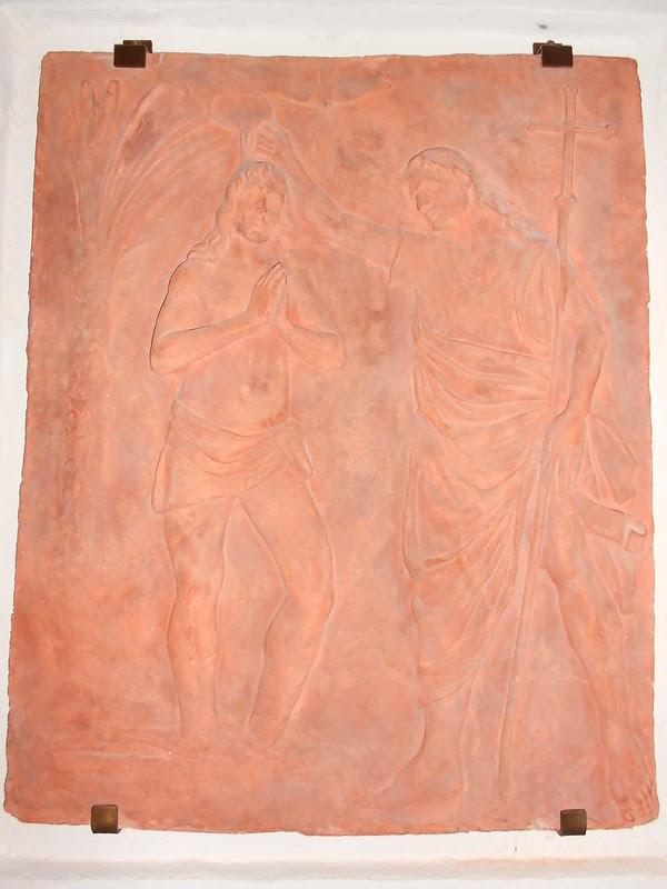 Virgilio Milani - Battesimo del Cristo - San Francesco