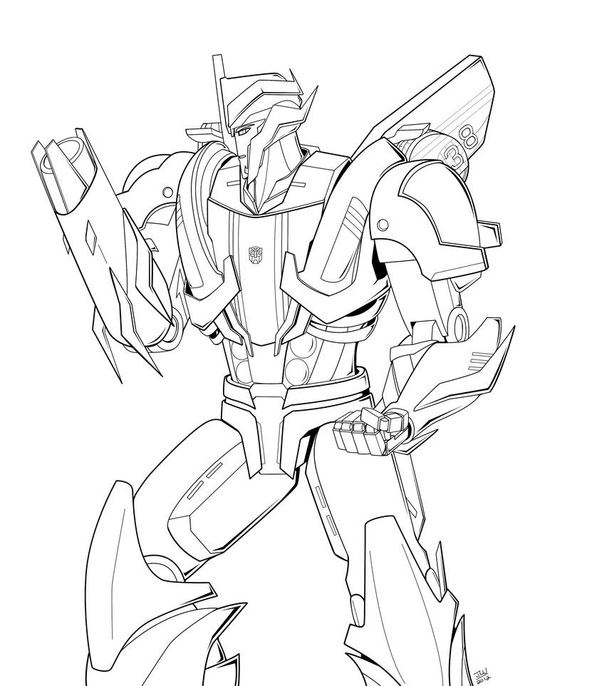 Transformers Prime Smoke Screen Coloring Pages Sketch ...