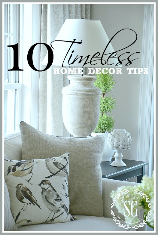 10 TIMELESS HOME DECOR TIPS- Curate a beautifully timess look