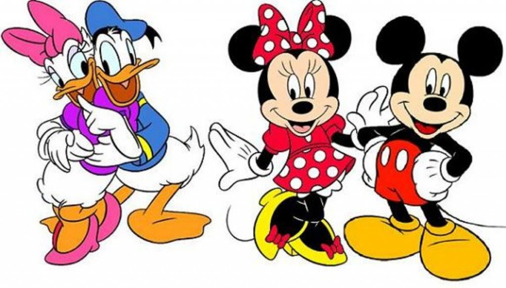 Pato Donald & Margarida e Mickey & Minnie