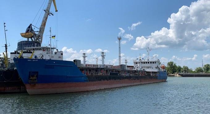 Ucrânia decretou a apreensão do petroleiro russo Nika Spirit