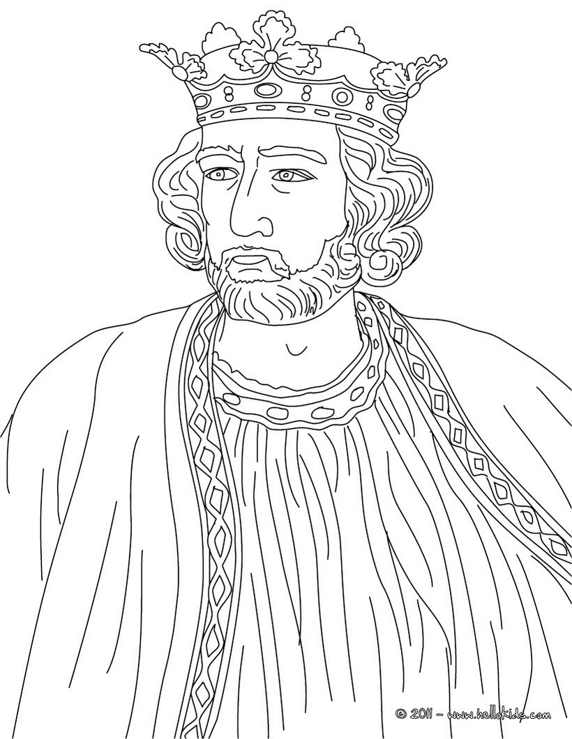700 Top Coloring Pages King , Free HD Download