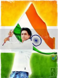 Shahrukh Khan With Indian Flag Pics Independence Day Images Shahrukh