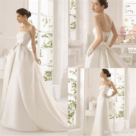 Discount 2015 Unique Design Detachable Skirt Wedding Dress