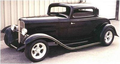American Street Rod '32 Ford 3 Window Coupe